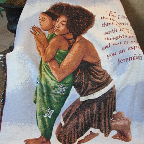 African American Throw Blankets