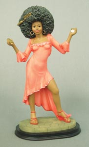 Retro collection Afro Queen - Figurine