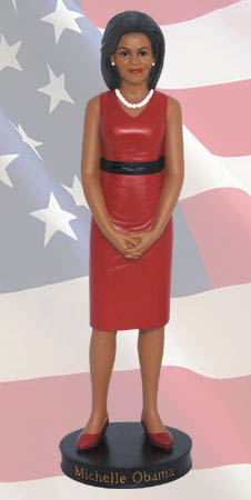 """America's First Lady-Michelle Obama Figurine"""
