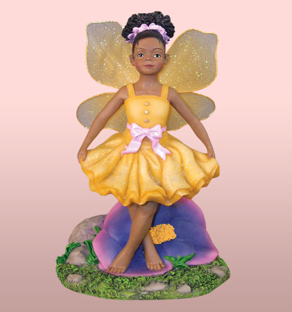 Child Fairy in Yellow