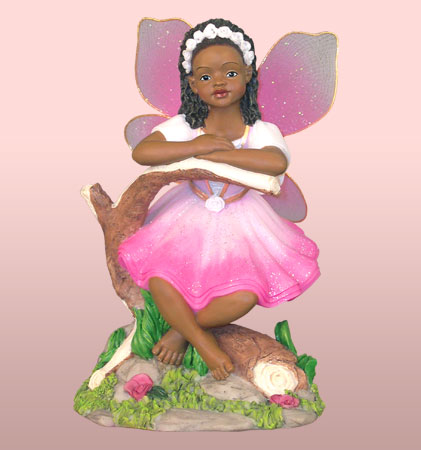 Child Fairy in Pink