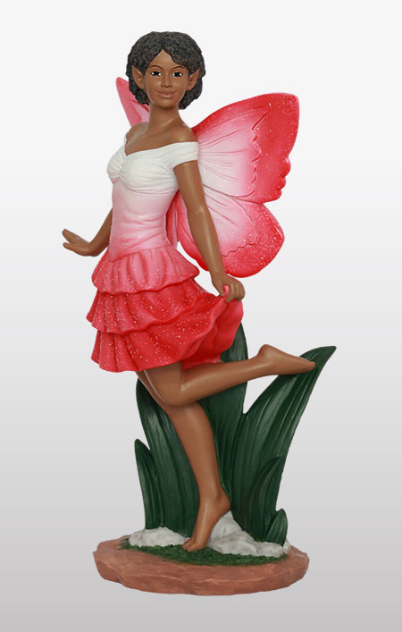 Fairy Dance in red - Figurine