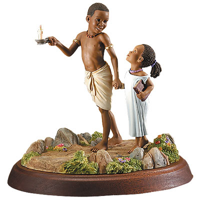 Guided By The Light by Thomas Blackshear - Figurine
