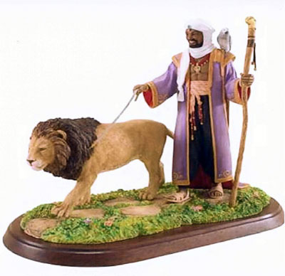African King by Thomas Blackshear - figurine - RETIRED