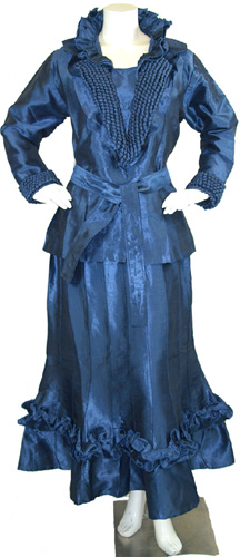 SILK EXTRAVANGAZA-6007 METALLIC BLUE