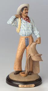Bill Pickett figurine