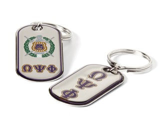 Omega Psi Phi paraphernalia Key chain