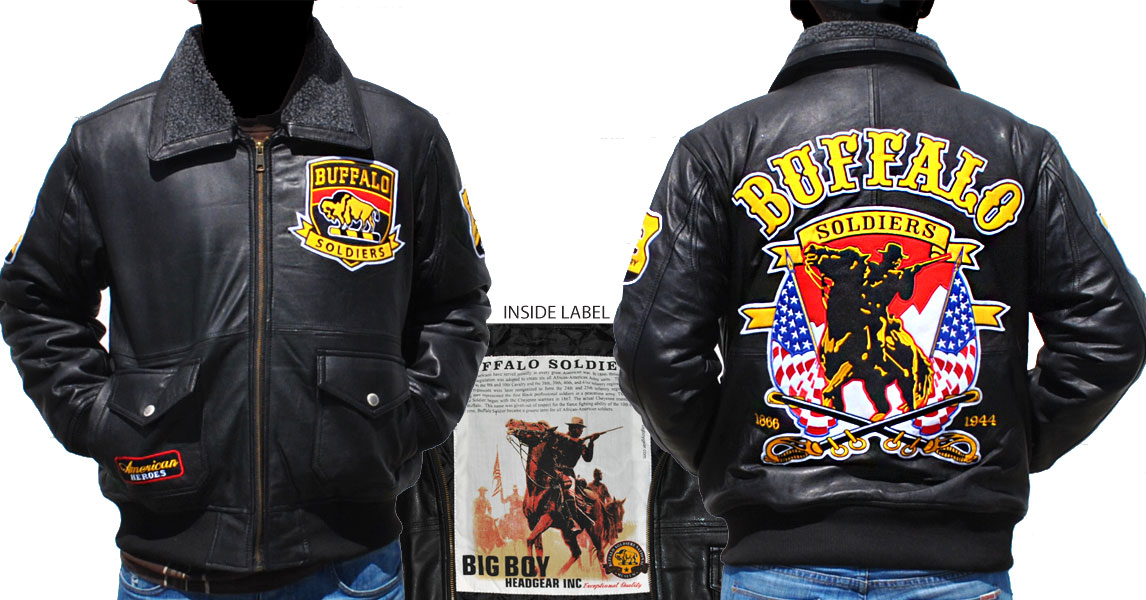 Buffalo Soldiers Jackets Leather