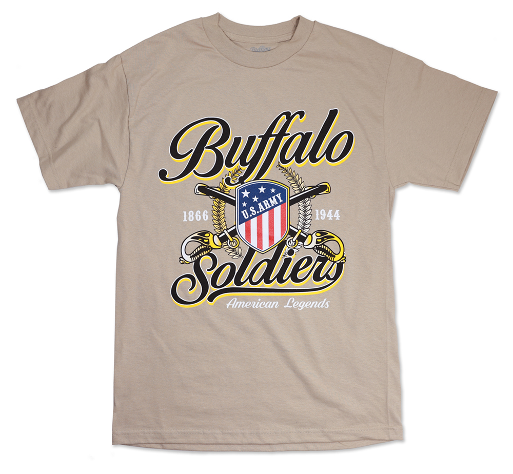 Buffalo Soldiers Tee - African American T-Shirt