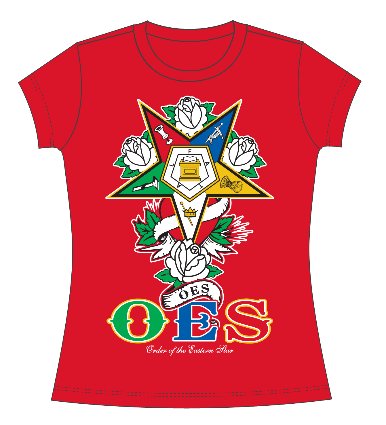Oes Order Of The Eastern Star Apparel T Shirt