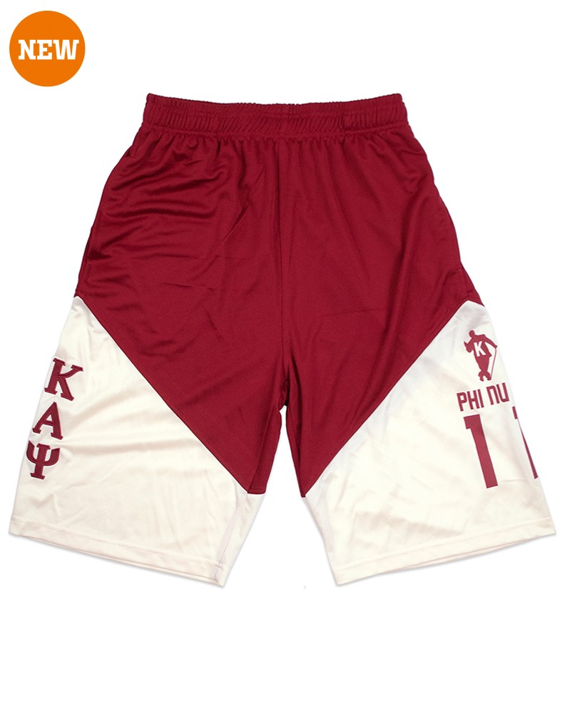 Kappa Alpha Psi apparel basketball shorts