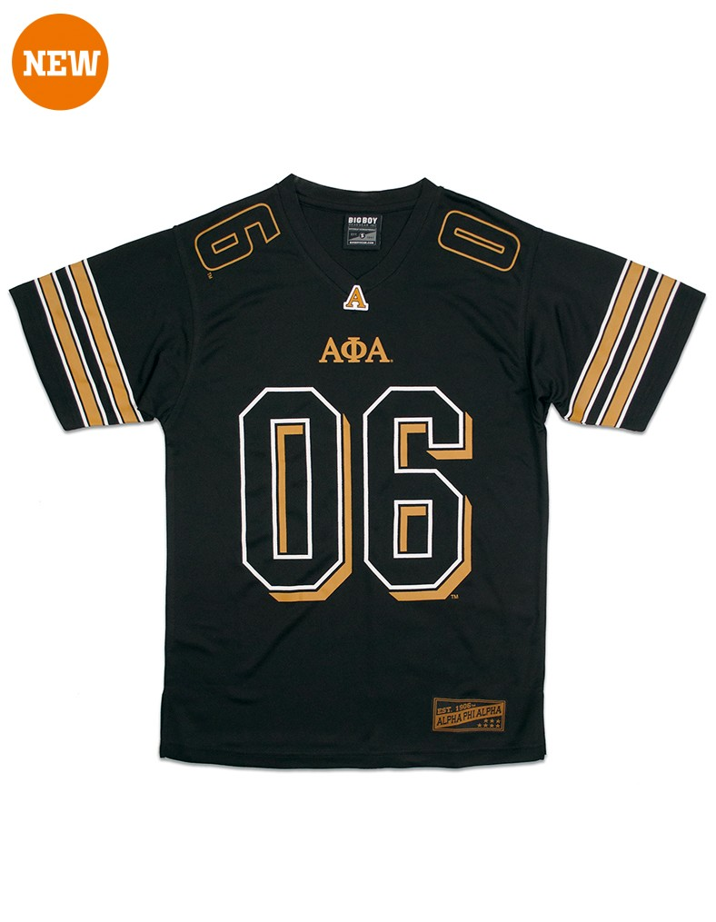 Alpha Phi Alpha apparel football jersey shirt