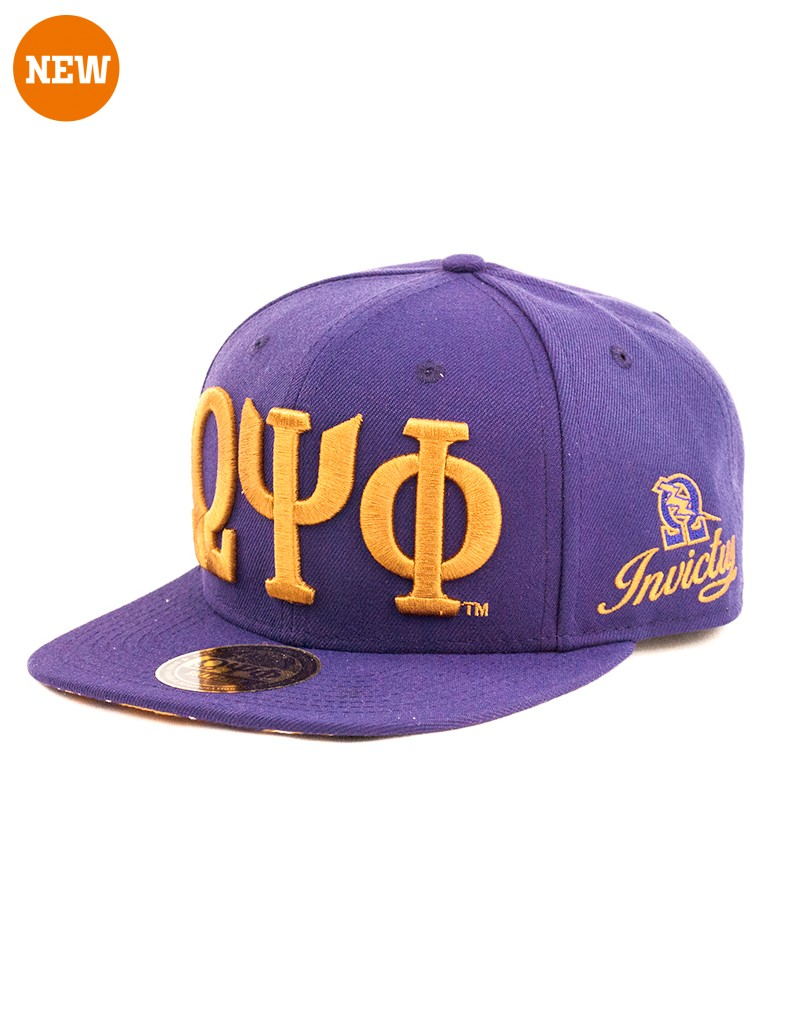 Omega Psi Phi accessory cap snap back