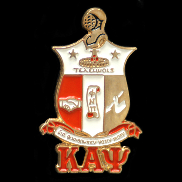 Kappa Alpha Psi Jewelry shield cuff links