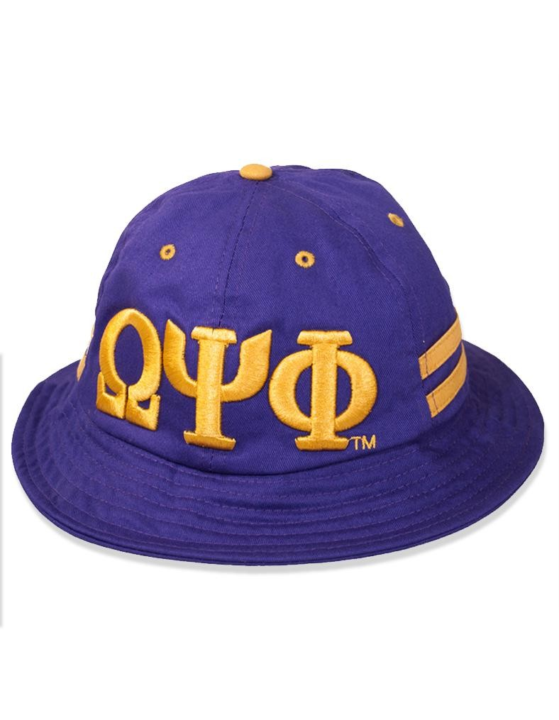 Omega Psi Phi accessory bucket hat