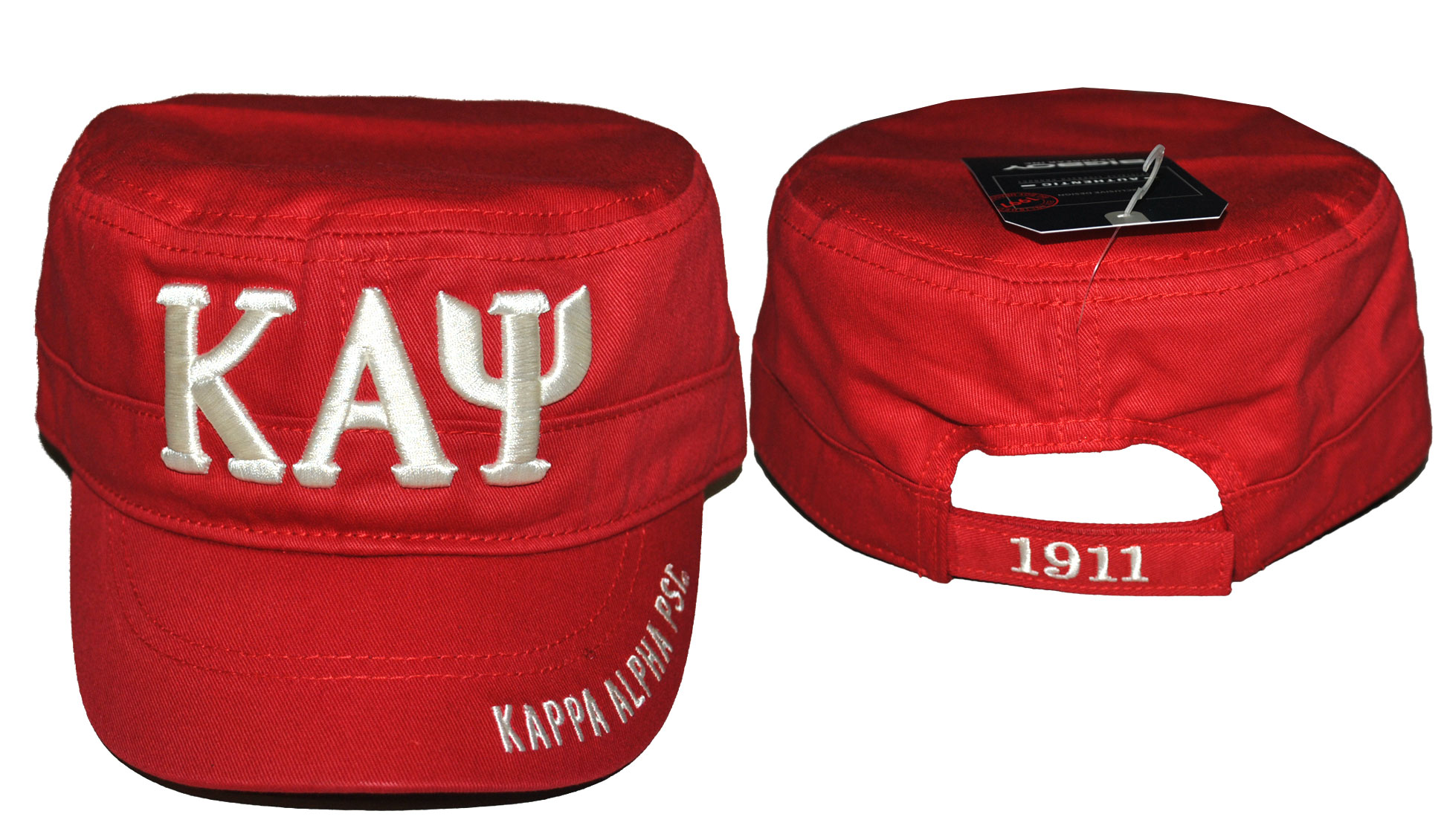 Kappa Alpha Psi accessory captain cap