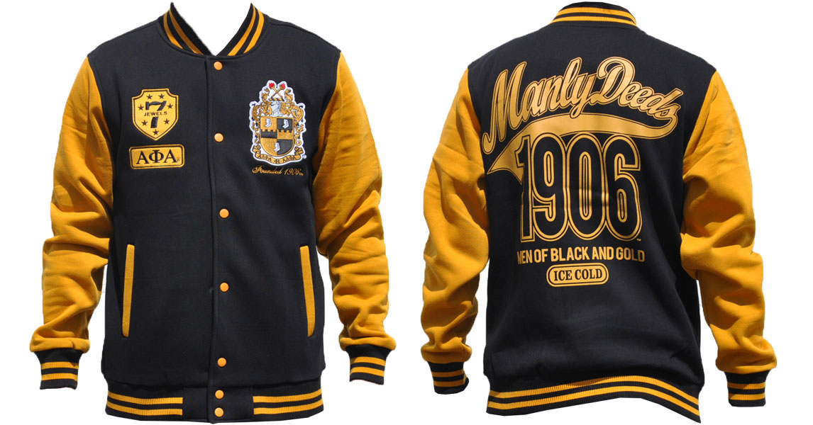 Alpha Phi Alpha apparel-Fleece Jacket