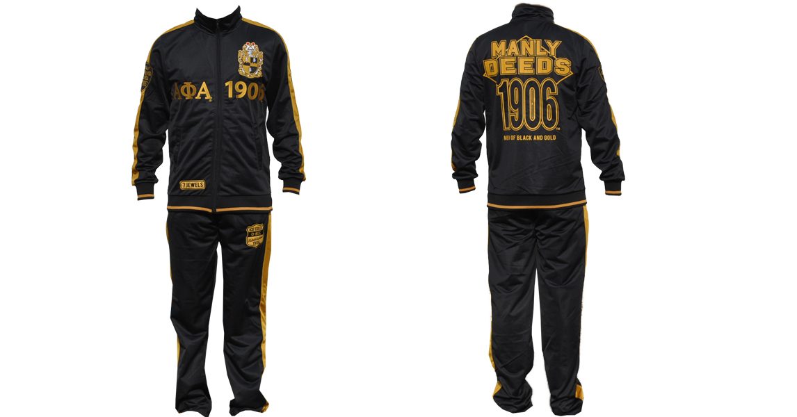 Alpha Phi Alpha apparel Jogging Suit