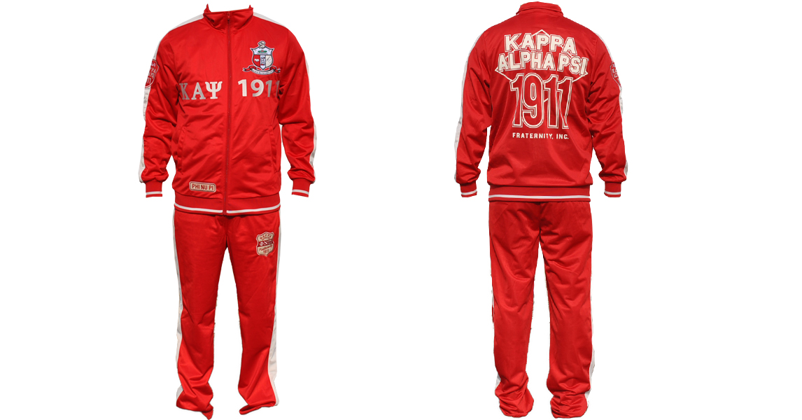Kappa Alpha Psi apparel Jogging Suit