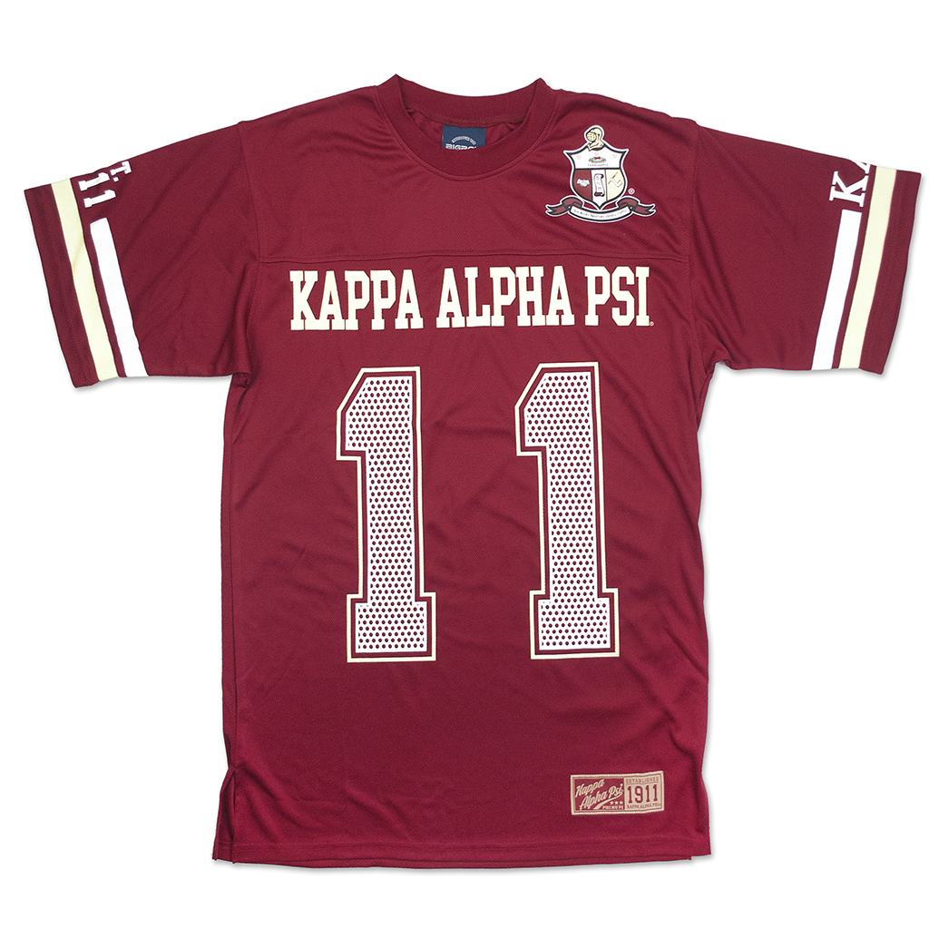 Kappa Alpha Psi apparel Jersey T Shirt