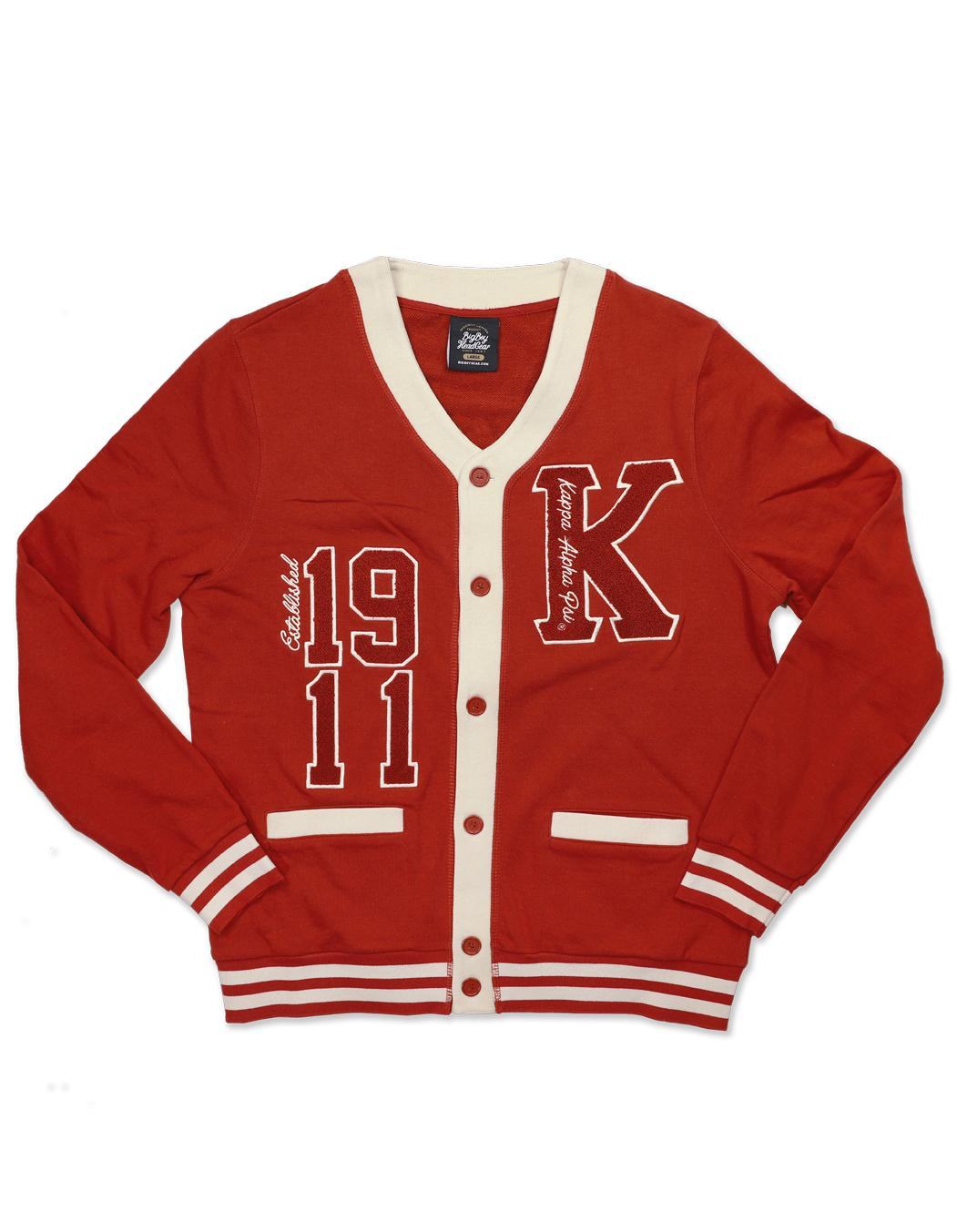 Kappa Alpha Psi apparel cardigan