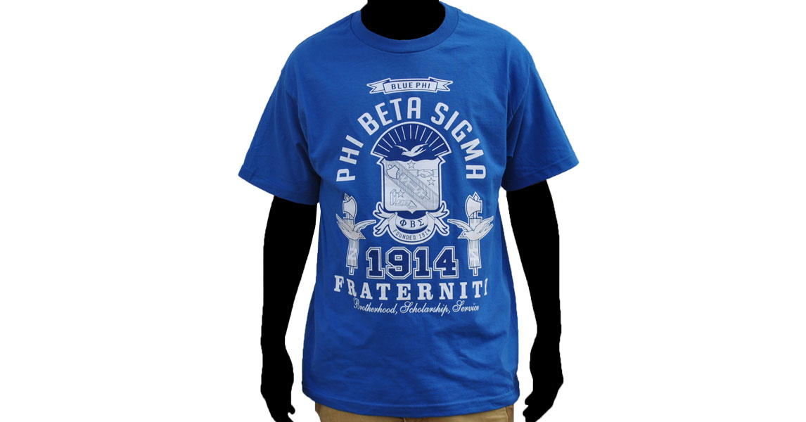 Phi Beta Sigma apparel-T shirt