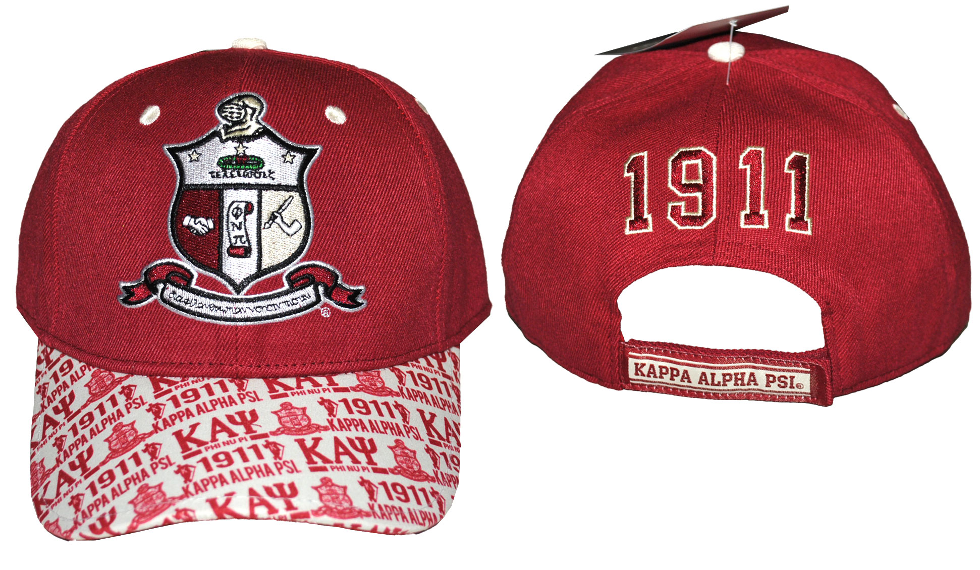 Kappa Alpha Psi accessory cap stripe