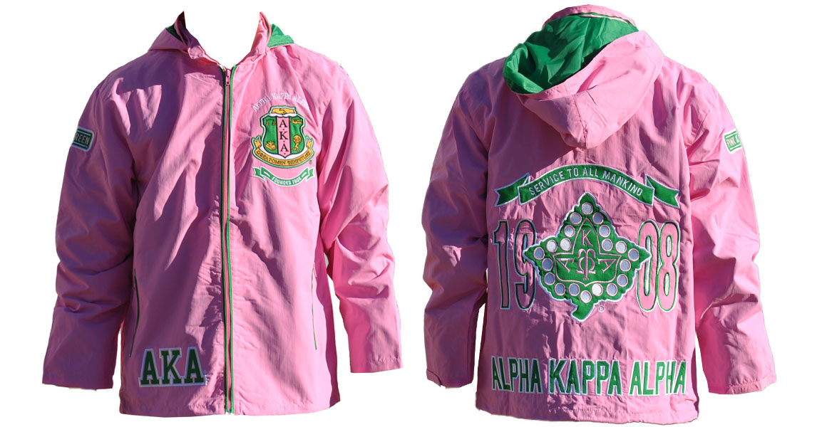 AKA - Alpha Kappa Alpha Apparel - Windbreaker