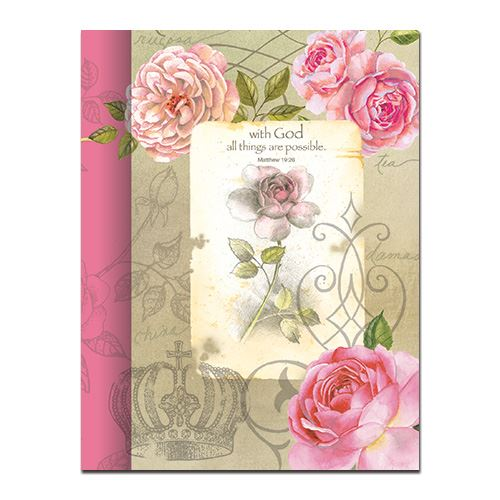 WITH GOD ROSES JOURNAL