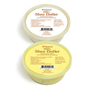 african whipped shea butter-8 oz.