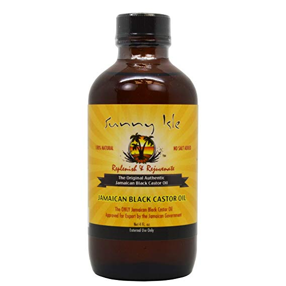 Grow Your Hair - Black Jamaican Castor Oil-4 oz-Best Seller