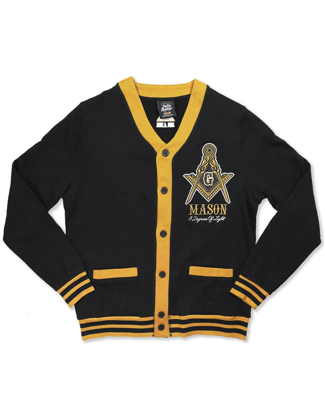 Freemason apparel Light Weight cardigan
