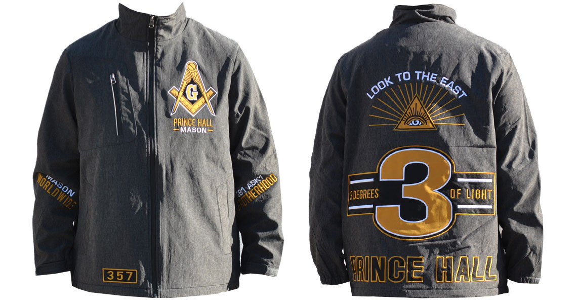 Prince Hall Windbreaker - Masonic