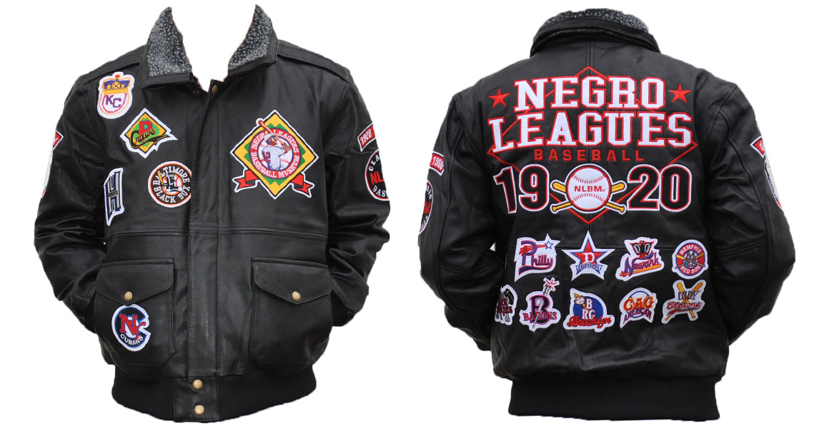 Negro League Leather Jacket