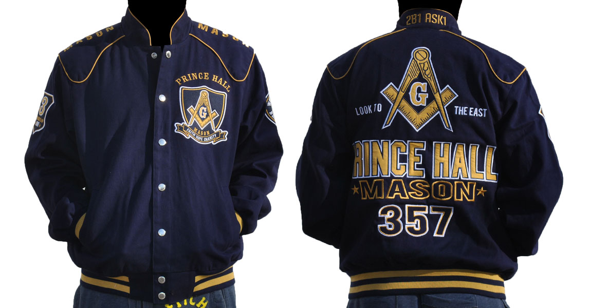 Quot Masonic Apparel Prince Hall Racing Jacket Quot
