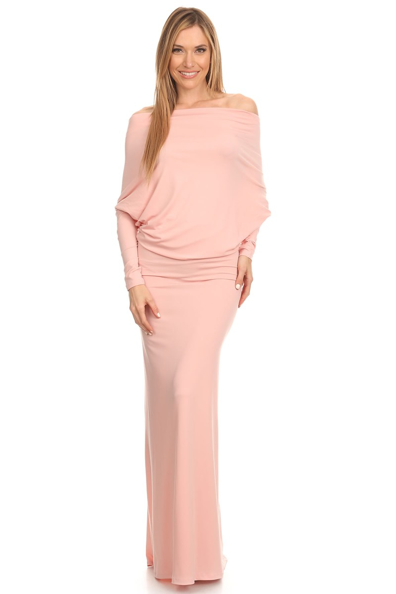 """All Eyes On Me Collection-full length maxi dress"""