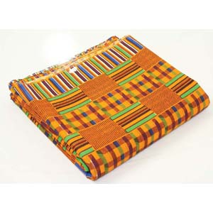 African Kente Print Fabric #1 : 12 Yards