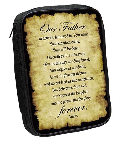 Bible Cover: Lord's Prayer