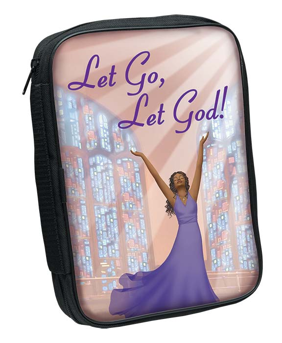Bible Cover: Let Go Let God