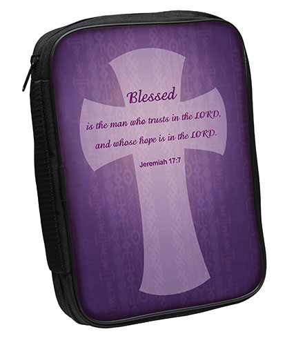 Bible Cover: Blessed, Jer 17:7