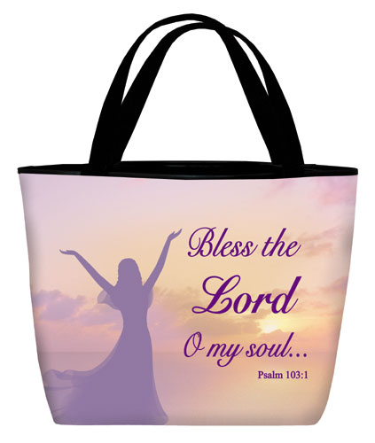 Tote bag: Bless the Lord Woman