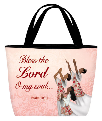 Tote bag: Bless the Lord Dancer