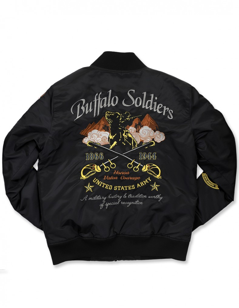 9th and 10th Cavalry Buffalo Soldiers Racing Nascar Jacket