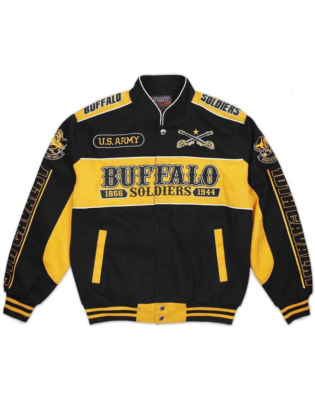 Buffalo Soldiers Racing Nascar Jacket