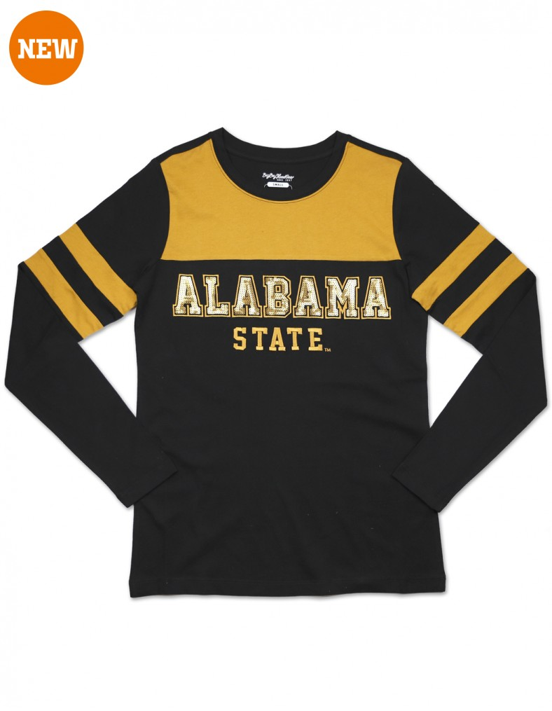 Alabama State University Women's T Shirt Clothing