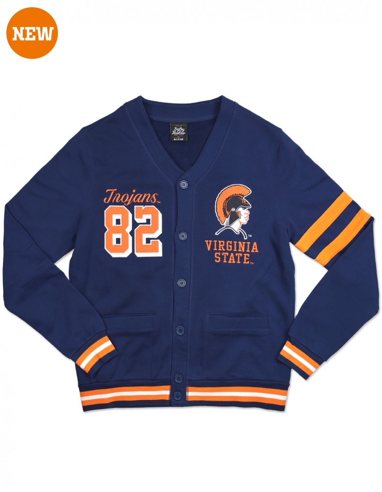 Virginia State University Apparel Men's Cardigan