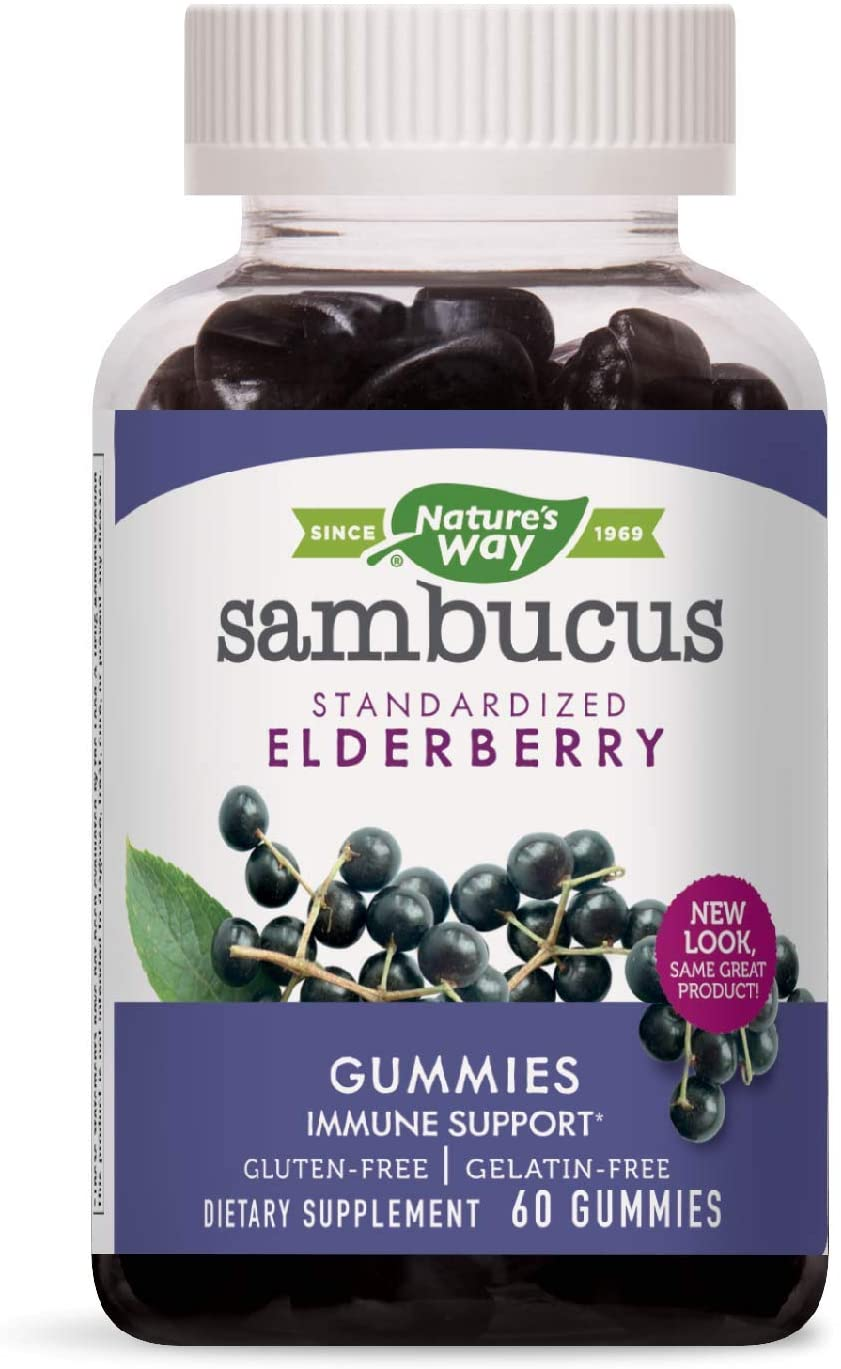 Nature\'s Way Elderberry Gummies