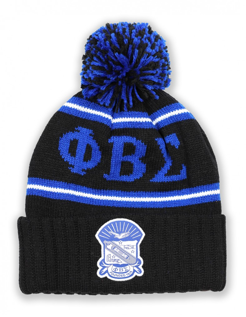 Phi Beta Sigma accessory cap head wear Beanie roy