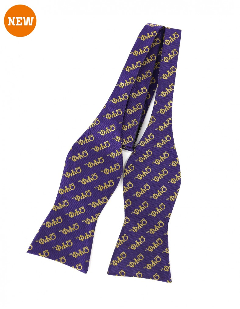 Omega Psi Phi apparel-untied Bowtie - pur