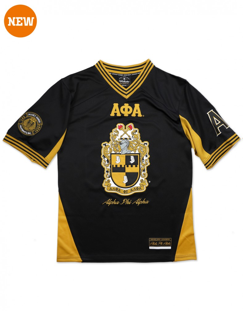 Alpha Phi Alpha apparel Football Jersey